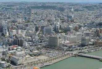 (資料写真)那覇の市街地