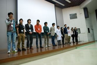 「Ryukyufrogs Leap Day」の成果発表会