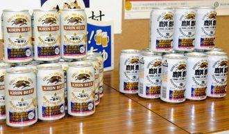 7月から沖縄地域限定で発売されるキリンビールの「慶良間諸島国立公園指定記念デザイン缶」