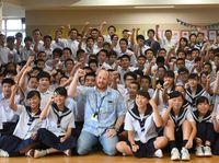 タイ洞窟の少年らに「少しでもパワーを」 中学生が動画エール 嘉手納基地からも救助参加