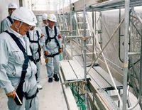 浦添の工事現場 安全パトロール/熱中症対策など確認
