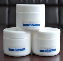 大豊アグリが発売した、ラードが主原料のポルコマッサージクリーム