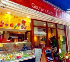 東京高円寺にオープンしたジェラート店「Gelato&Cafe TIDA」=J-アヴァンス提供