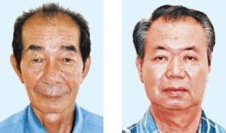 (左から)西大舛高旬氏、川満栄長氏