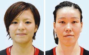 (左から)池原綾香、東濱裕子